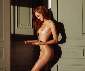 Katerina Sherjukova - Alisa Verner photoshoot