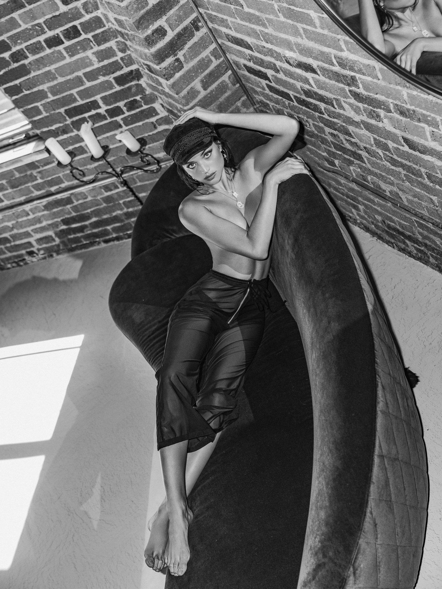 Daniela Lopez Osorio - Kesler Tran photoshoot