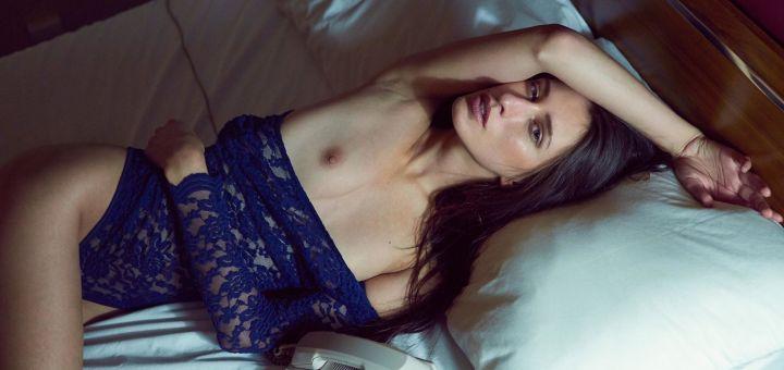 Kate Snig - Stefan Legacy photoshoot