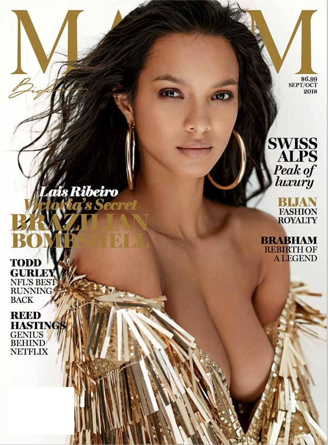Lais Ribeiro - Maxim (September/October 2018)