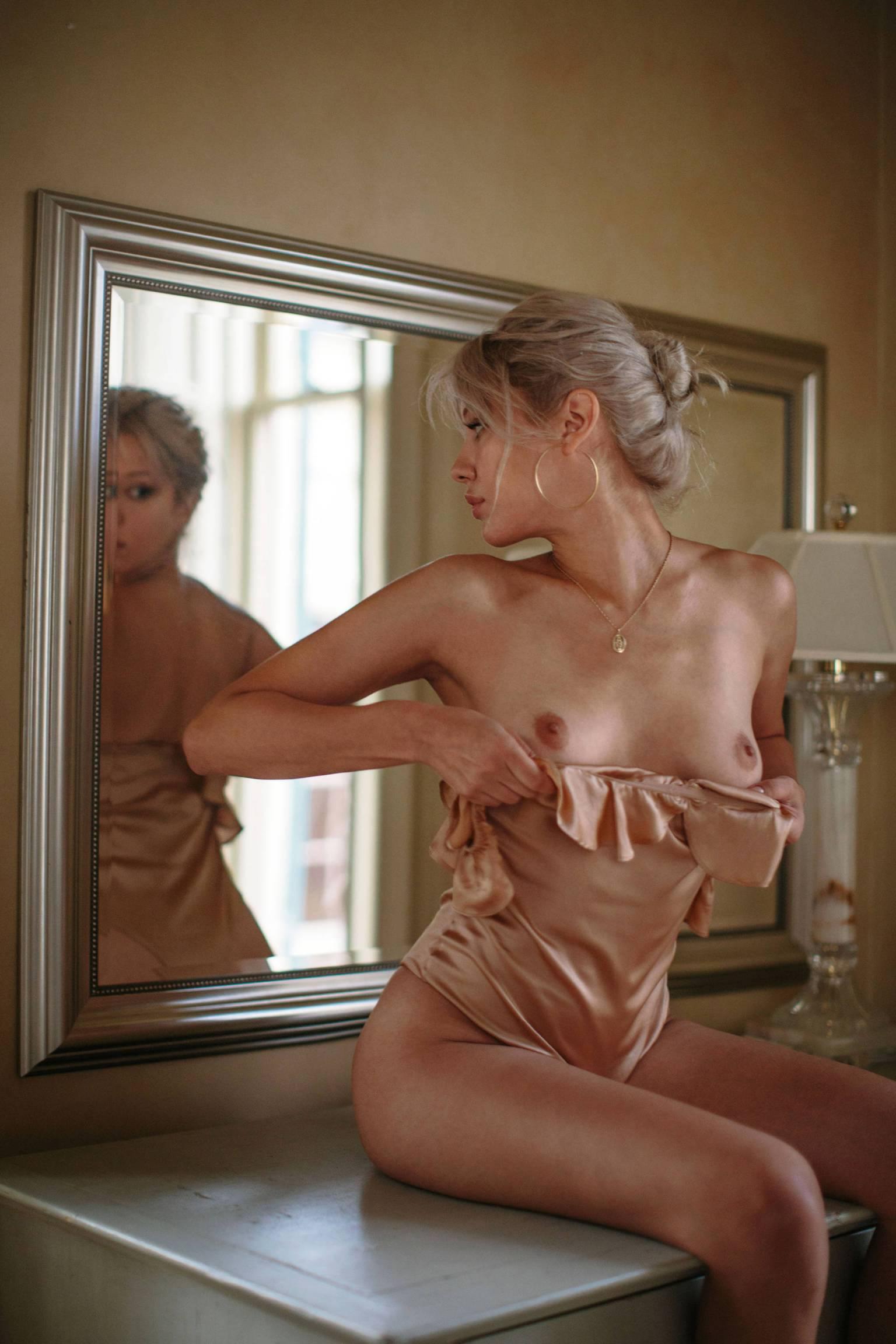 Michelle Rizo - Jen Senn photoshoot