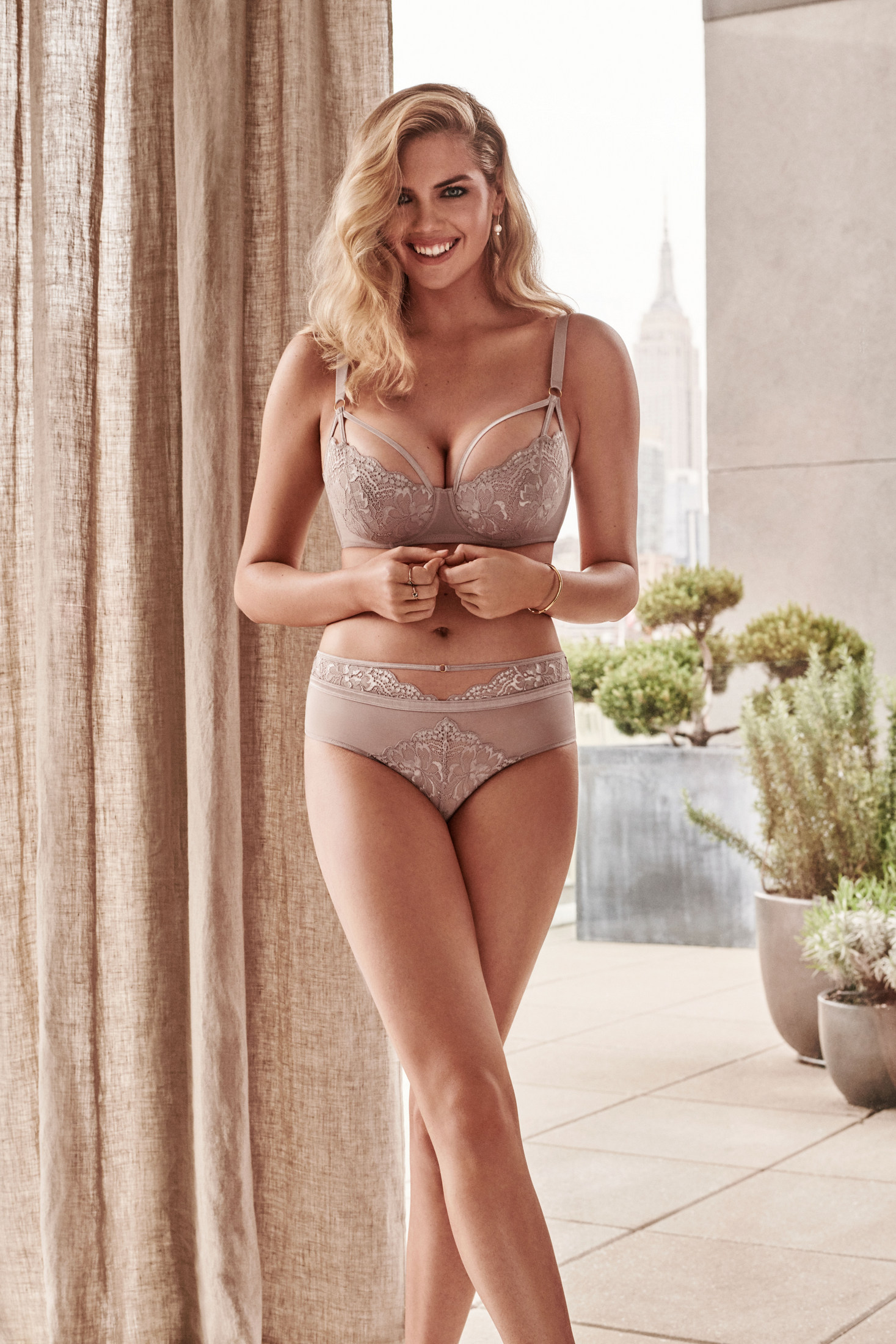 Kate Upton - Yamamay Lingerie (August 2018)