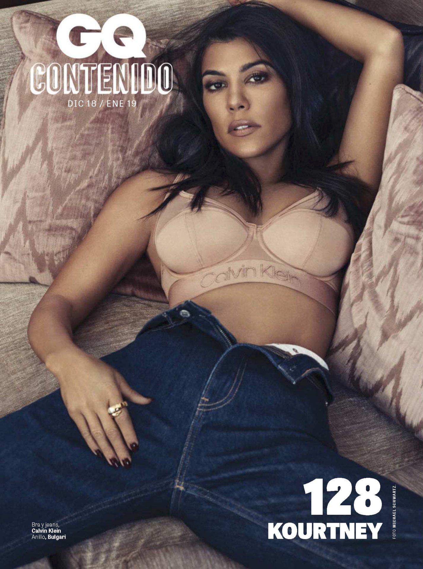 Kourtney Kardashian - GQ Mexico (December 2018)