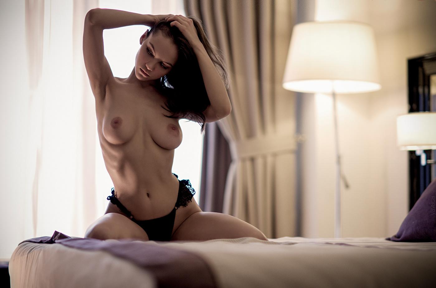 Maria Demina - Vladimir Nikolaev photoshoot