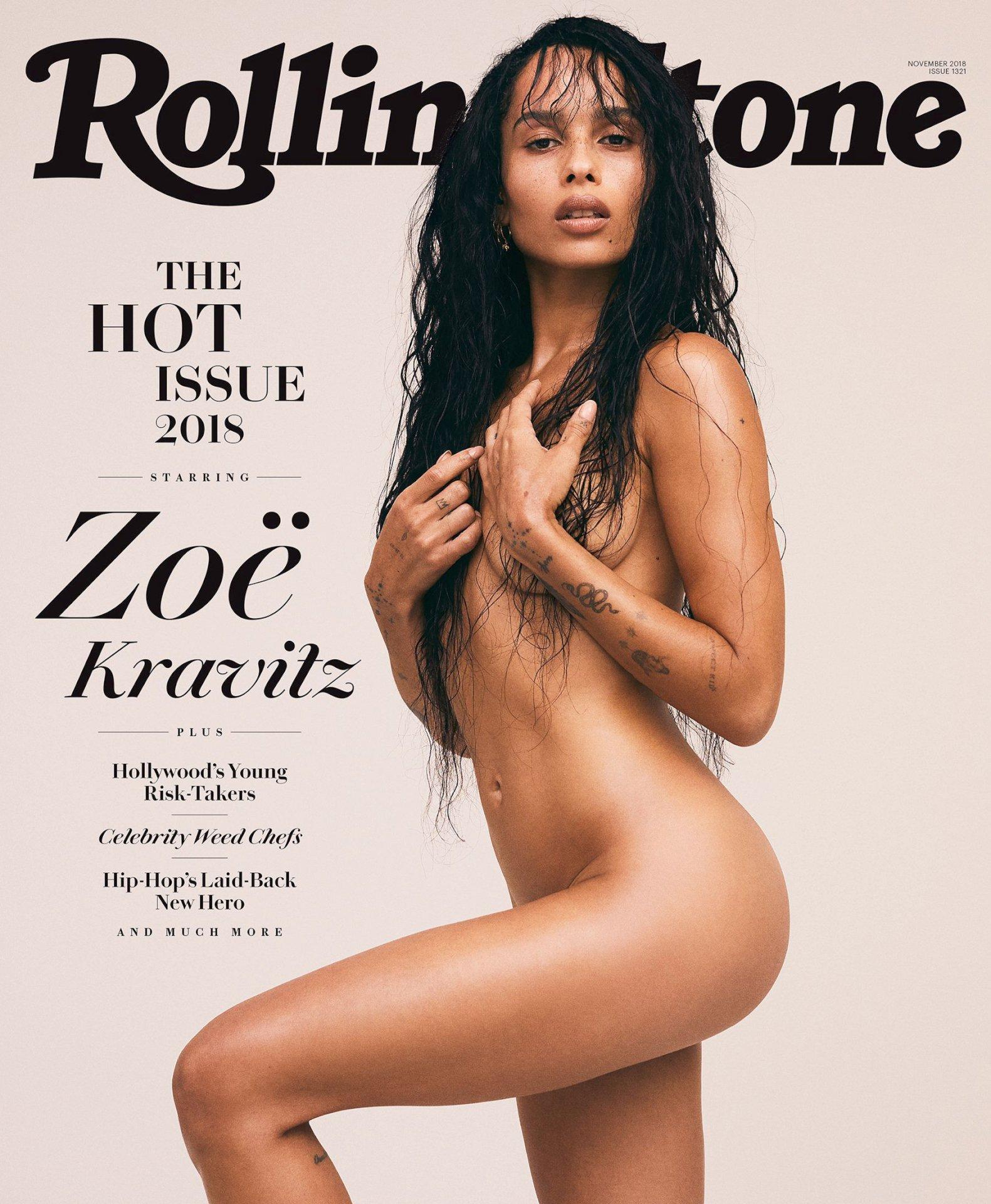 Zoe Kravitz - Rolling Stone (November 2018)