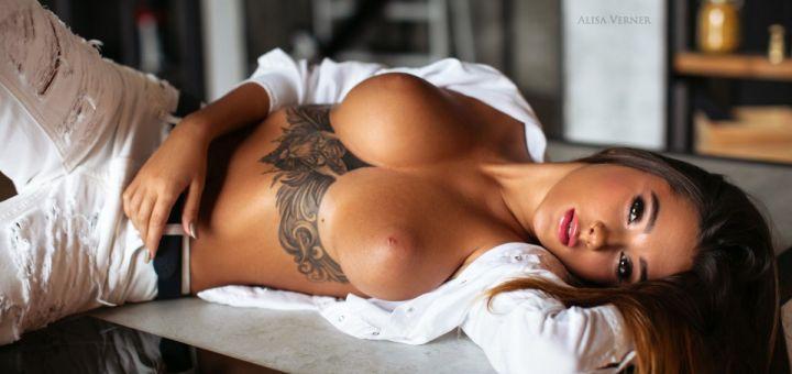 Liya Silver - Alisa Verner photoshoot