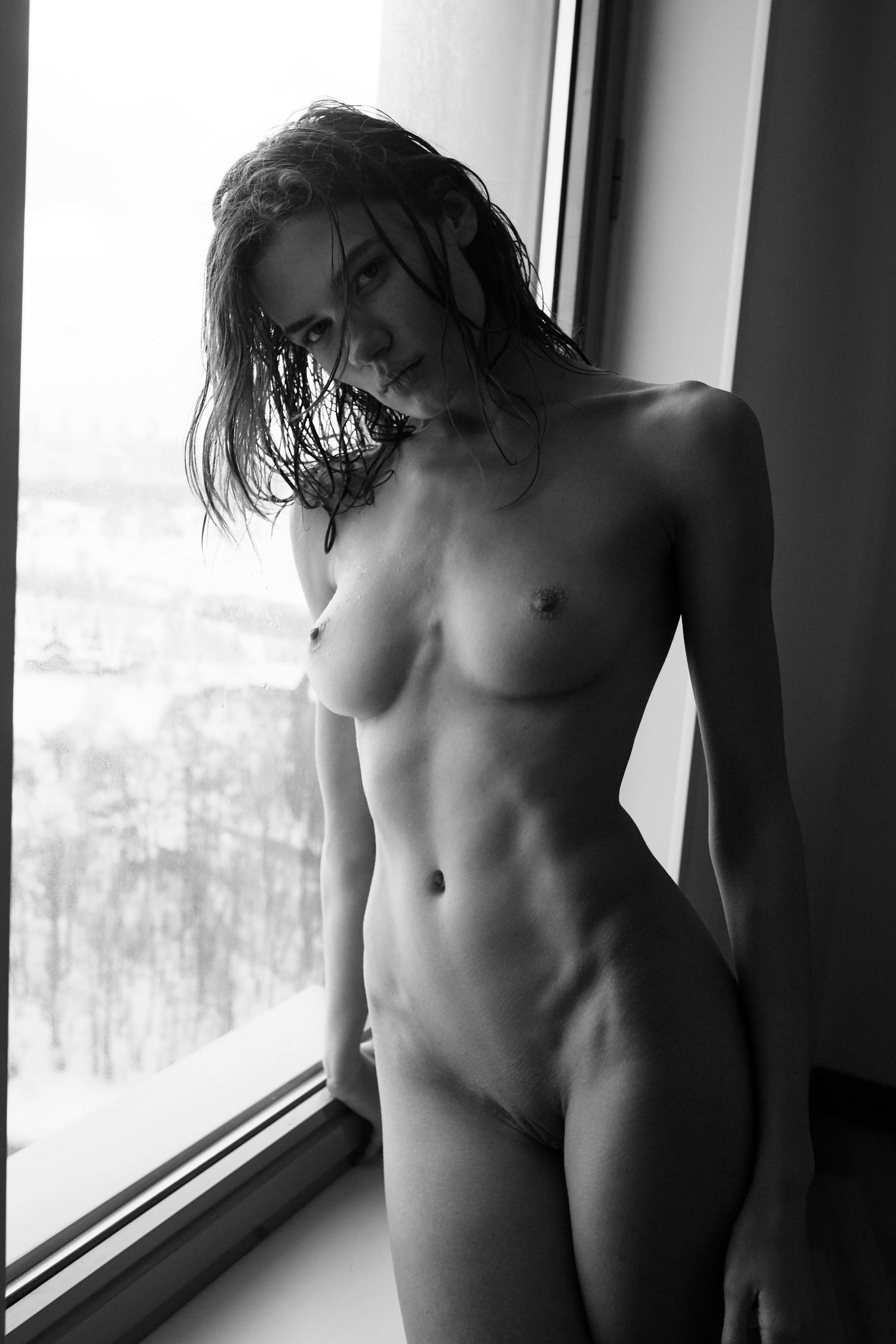 Polina Grosheva - Viktor Korneev photoshoot
