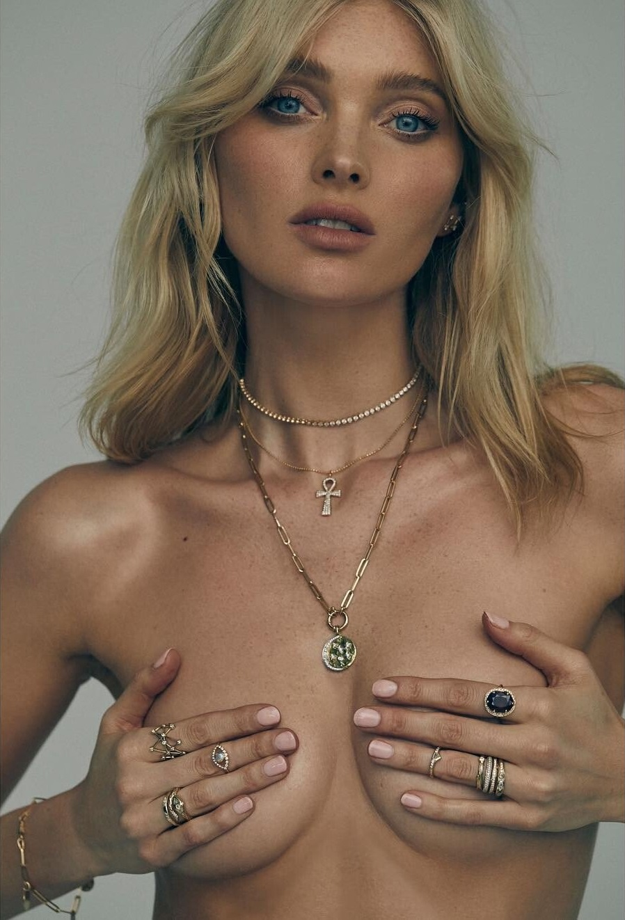 Elsa Hosk – Logan Hollowell Jewelry 2019