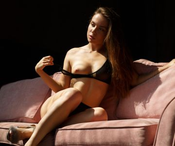 Polina Azarova - Igor Shevchuk photoshoot