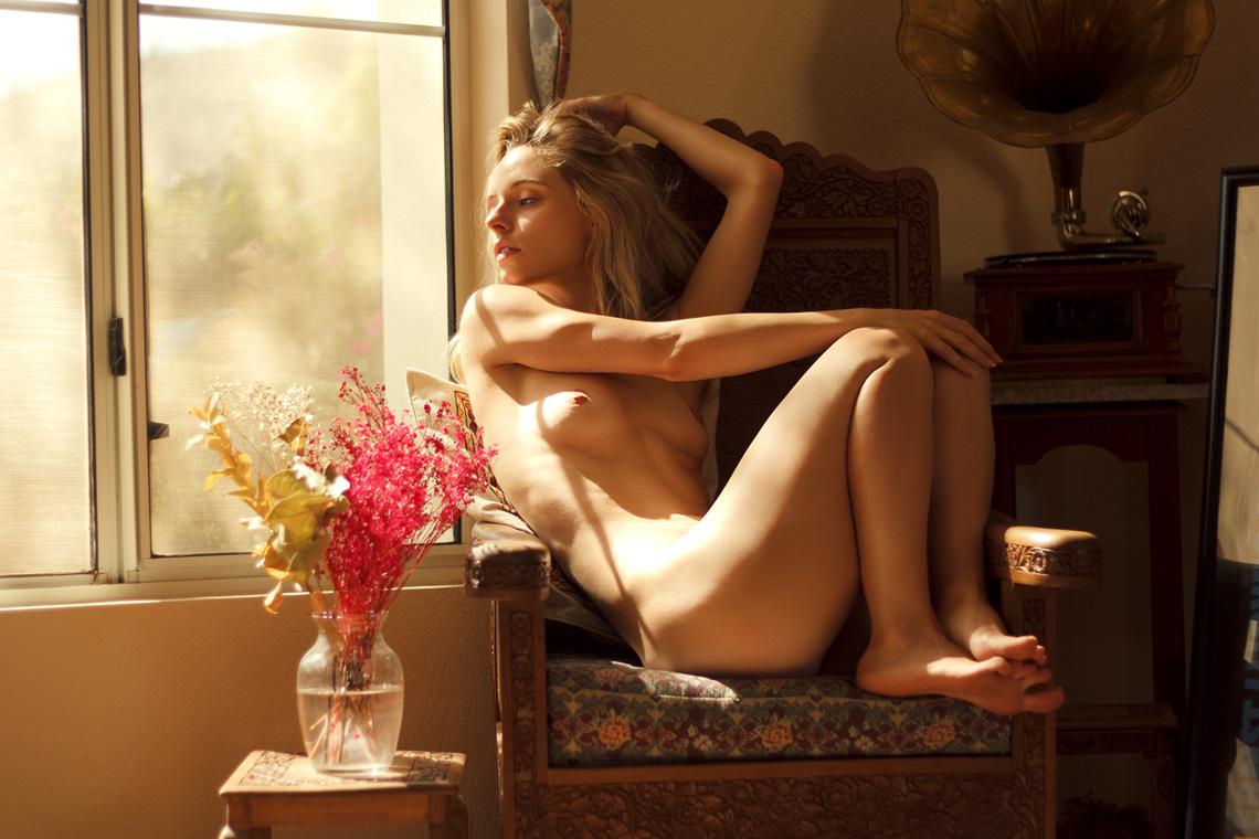 Maria Kn - Ray Chandler photoshoot