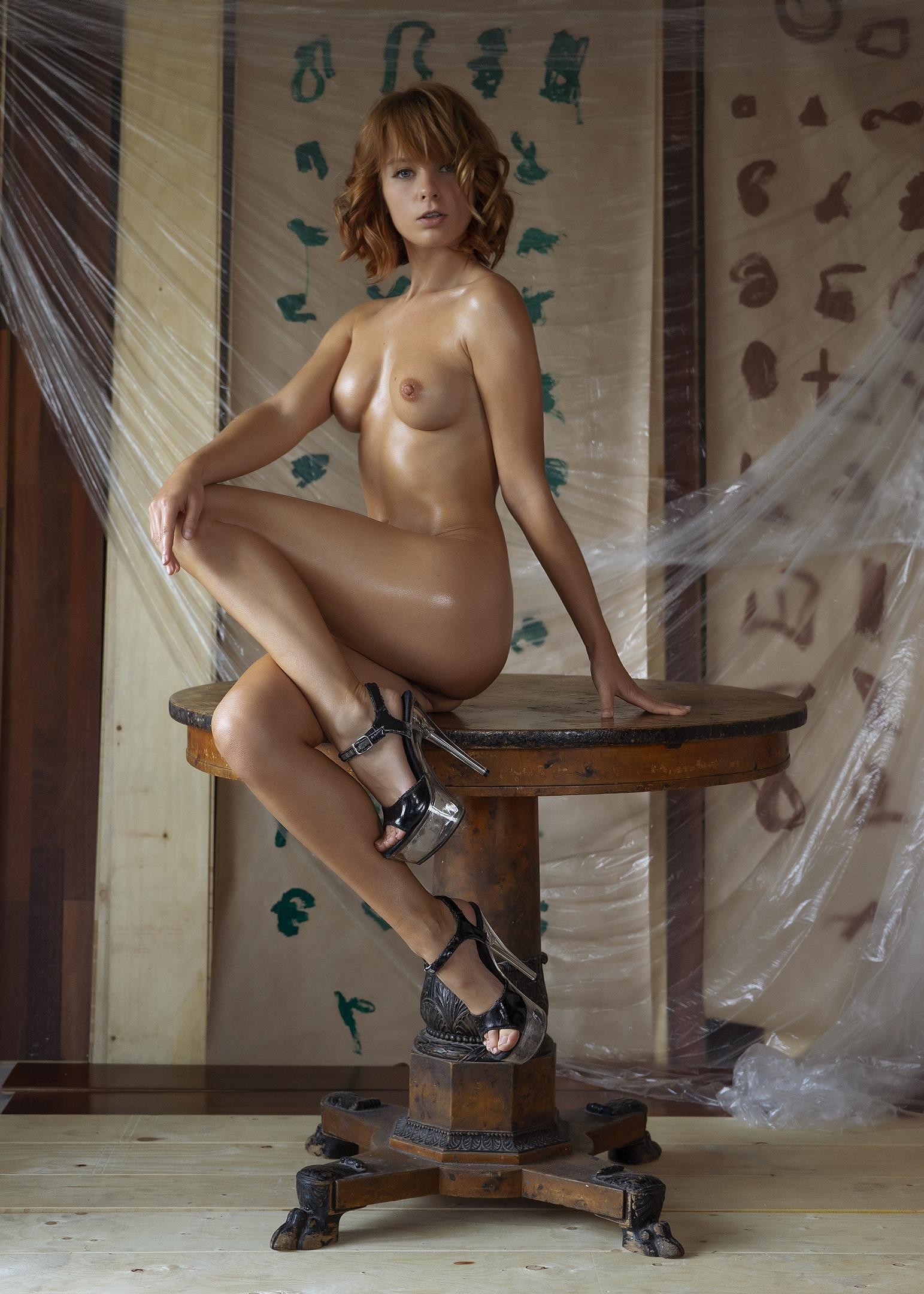 Marta Gromova - Alexey Sominskiy photoshoot