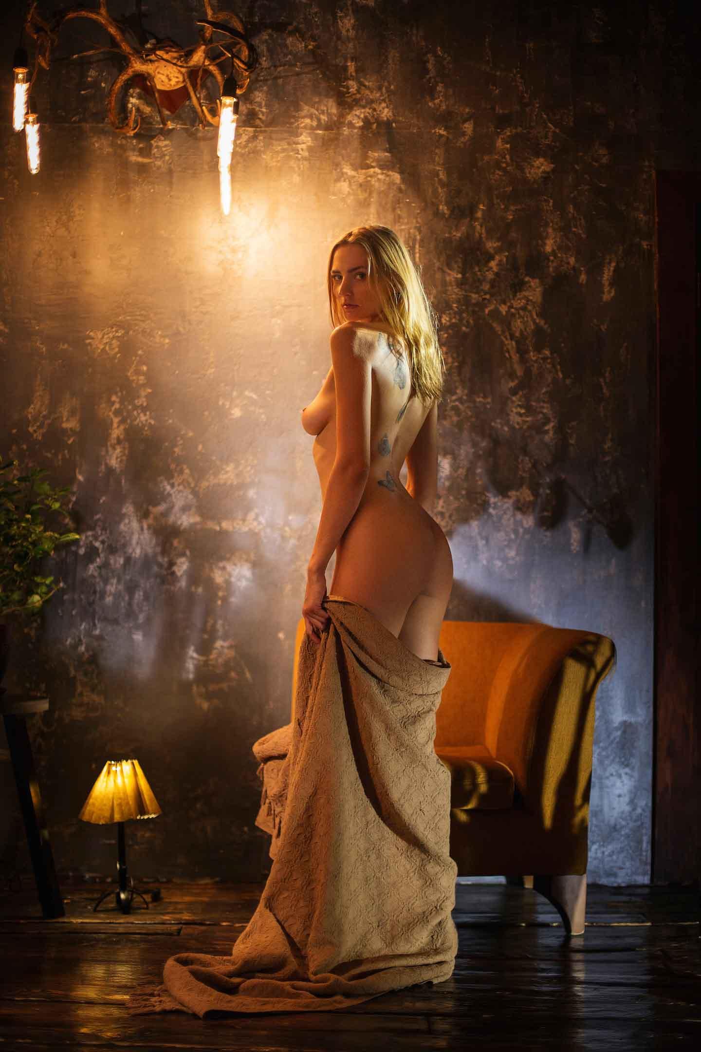 Anna Vladimirovna - Maxim Chuprin photoshoot