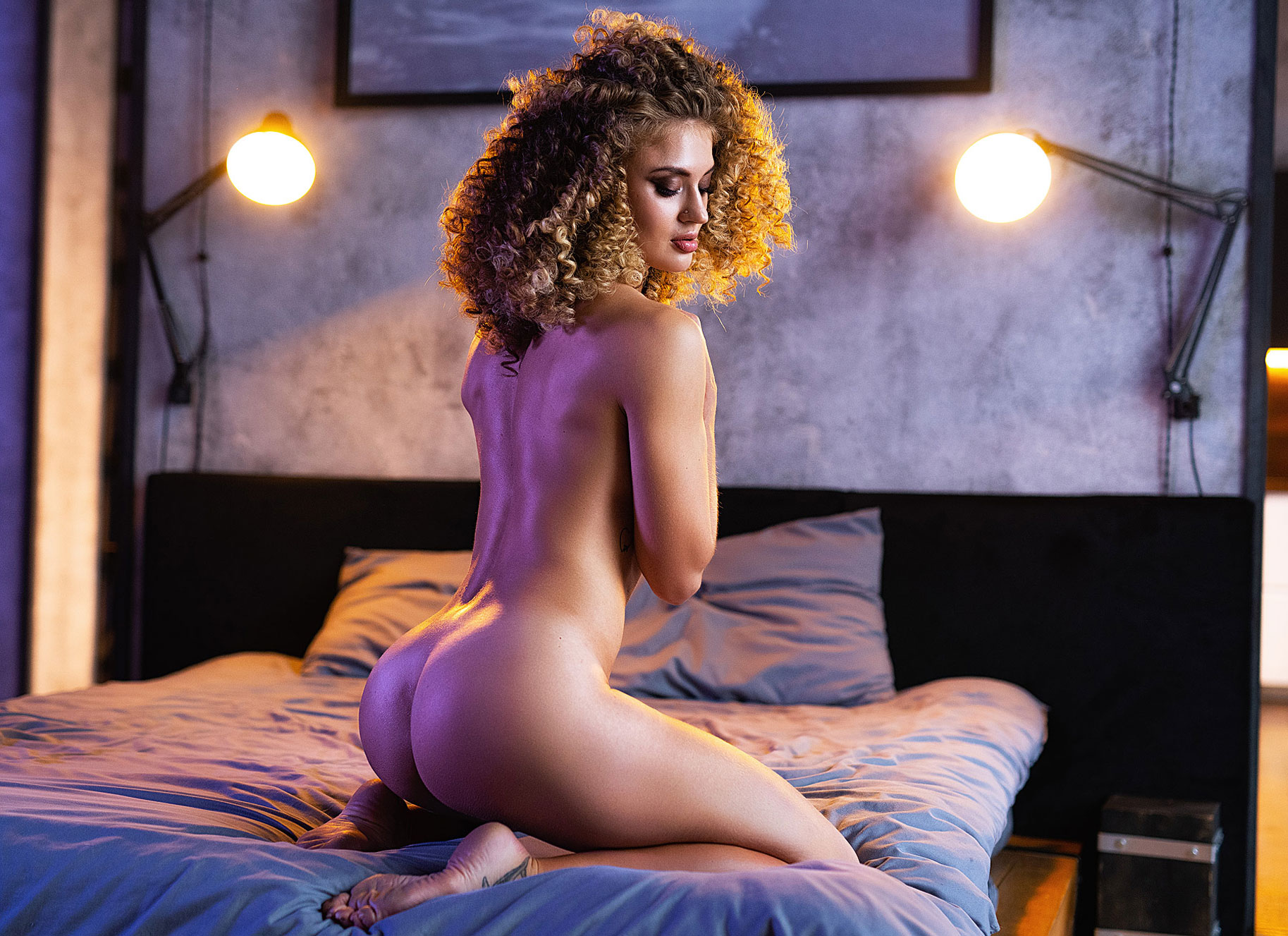 Alesya Selina - Alexander Margolin photoshoot
