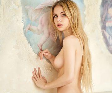 Alexandra Smelova - Andrey Levitan photoshoot