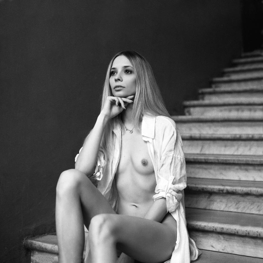 Lena Bragina - Artem Stisovyak photoshoot