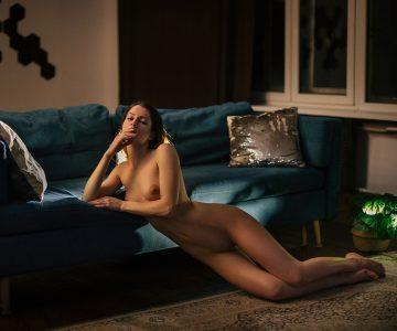 Pelageya Klevcova - Maxim Chuprin photoshoot
