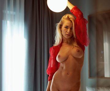Daria Lytvyn - Simon Bolz photoshoot