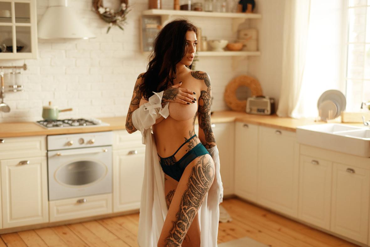 Evgenia Talanina - Igor Kuprianow photoshoot