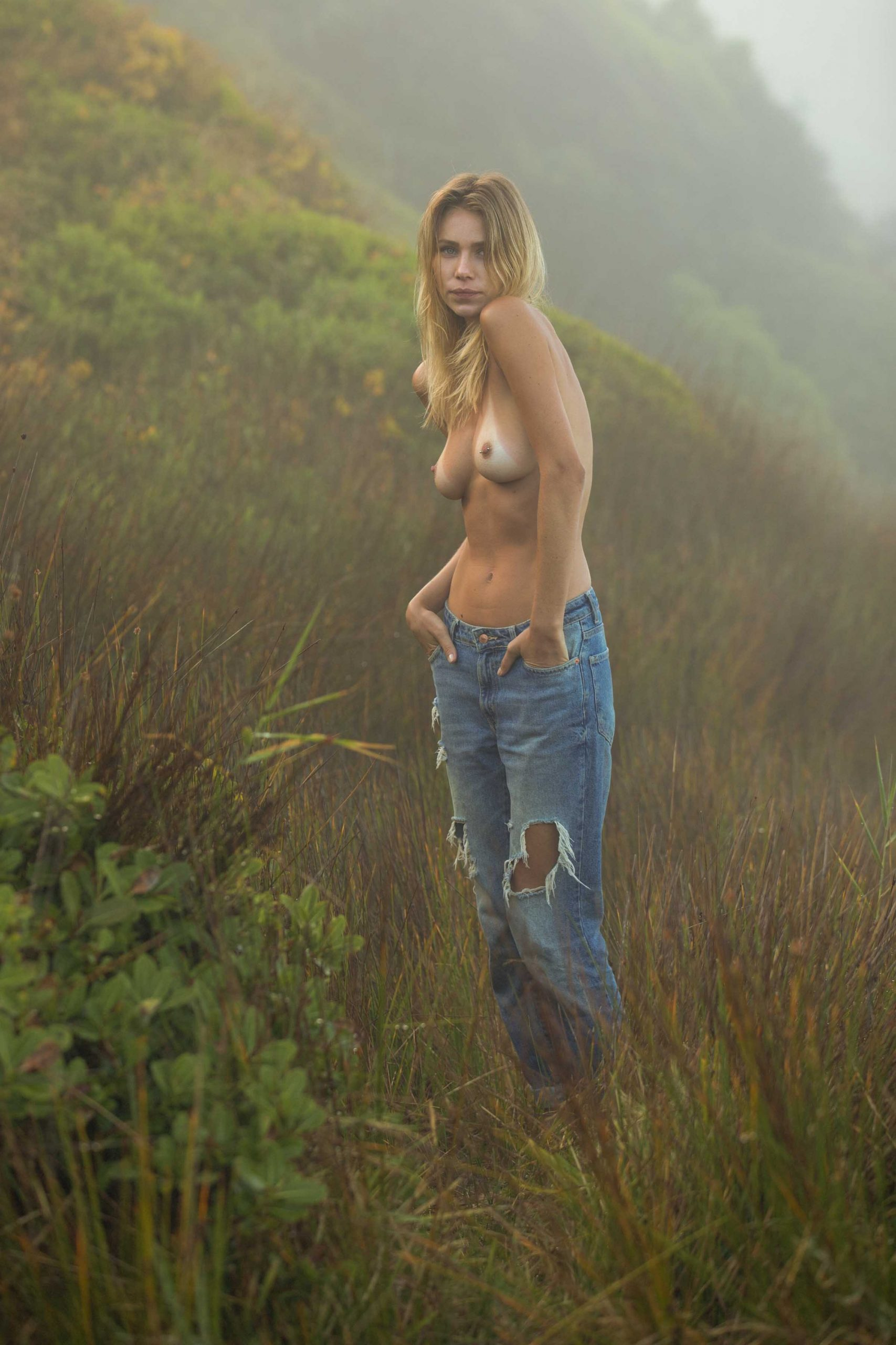 Gracie Hans - Gary Huddlestone photoshoot