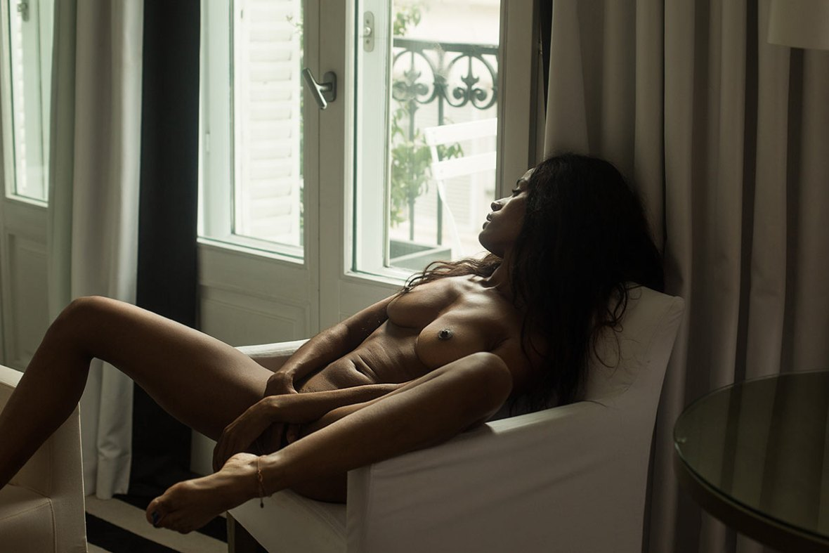 Maeva Leduc - Celine Andrea photoshoot