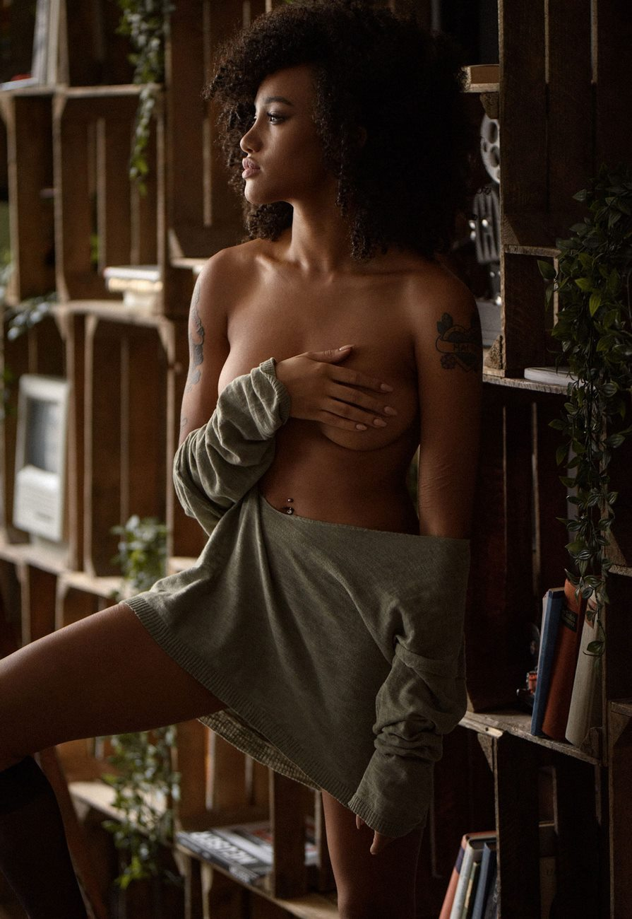 Rikae Crisi - Sacha Leyendecker photoshoot