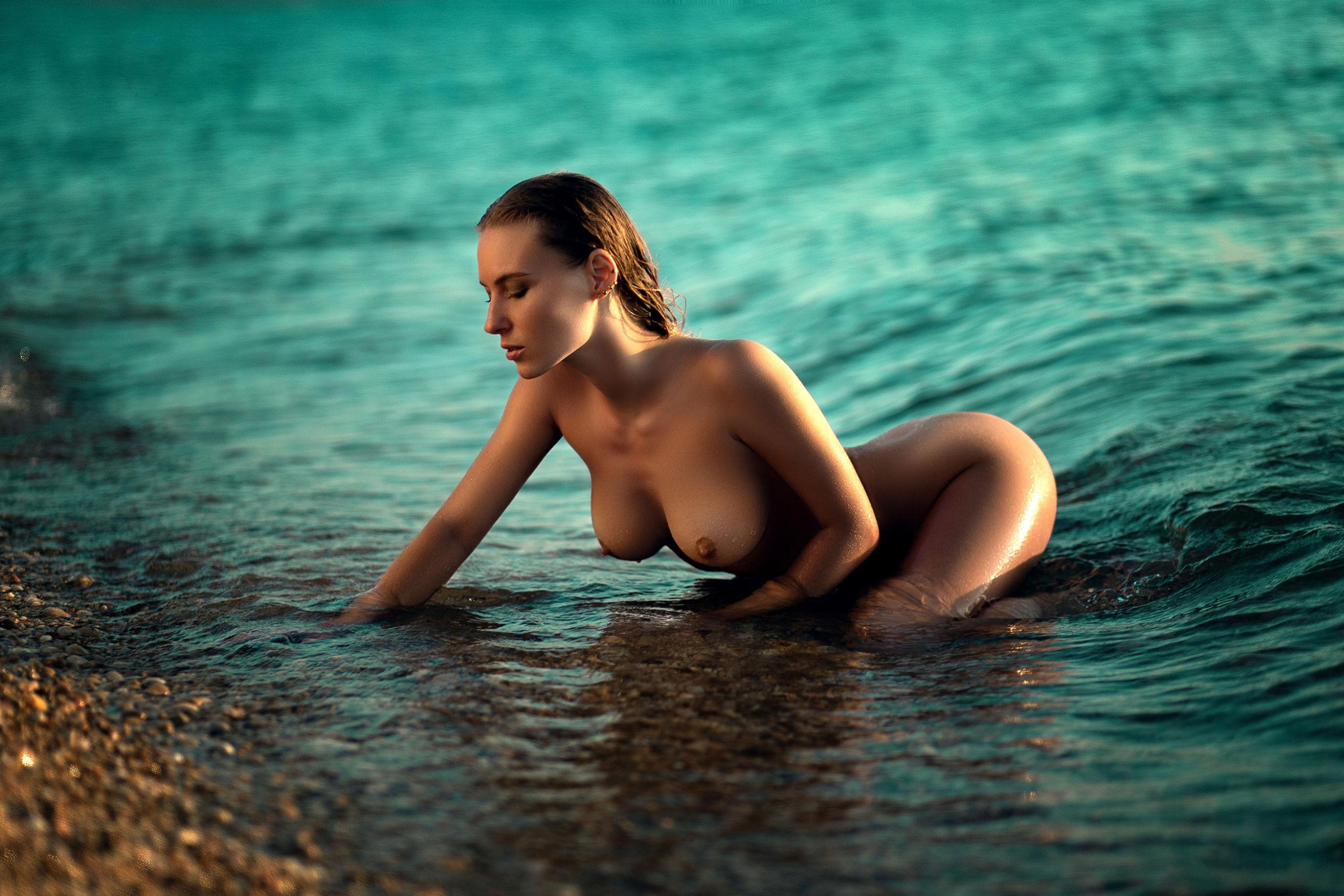 Alina Solnechnaya - Eduard Kovalchuk photoshoot