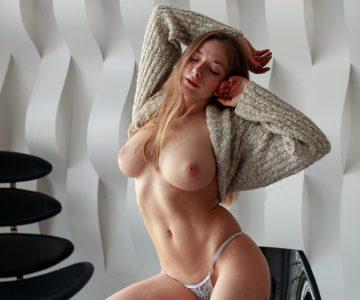 Olga Kobzar - Igor Vasilyev photoshoot