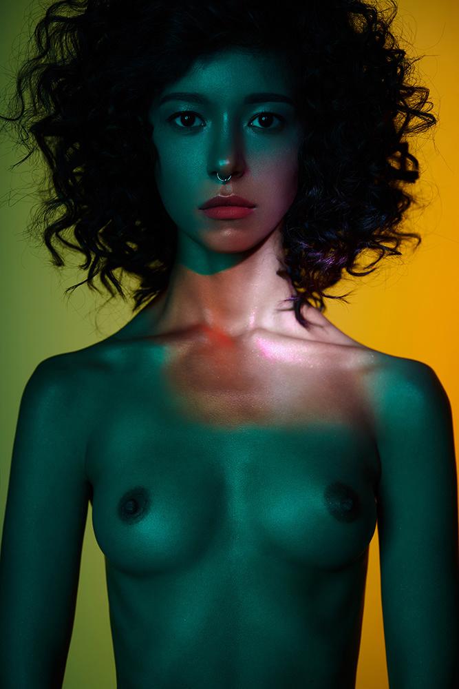 Anzhelika Milenkaya - George Mayer photoshoot