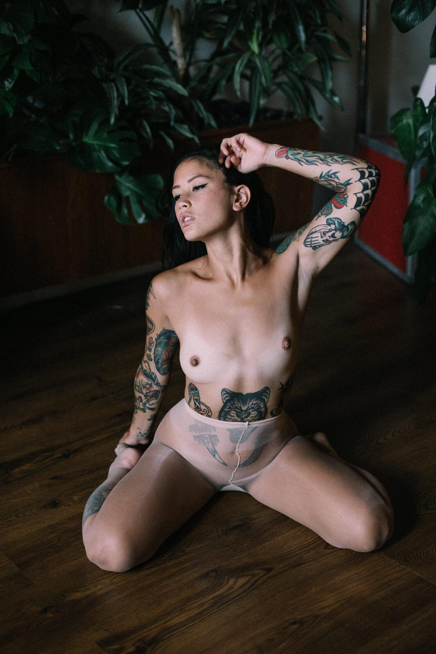 Kylee Francirek - Max Wong photoshoot