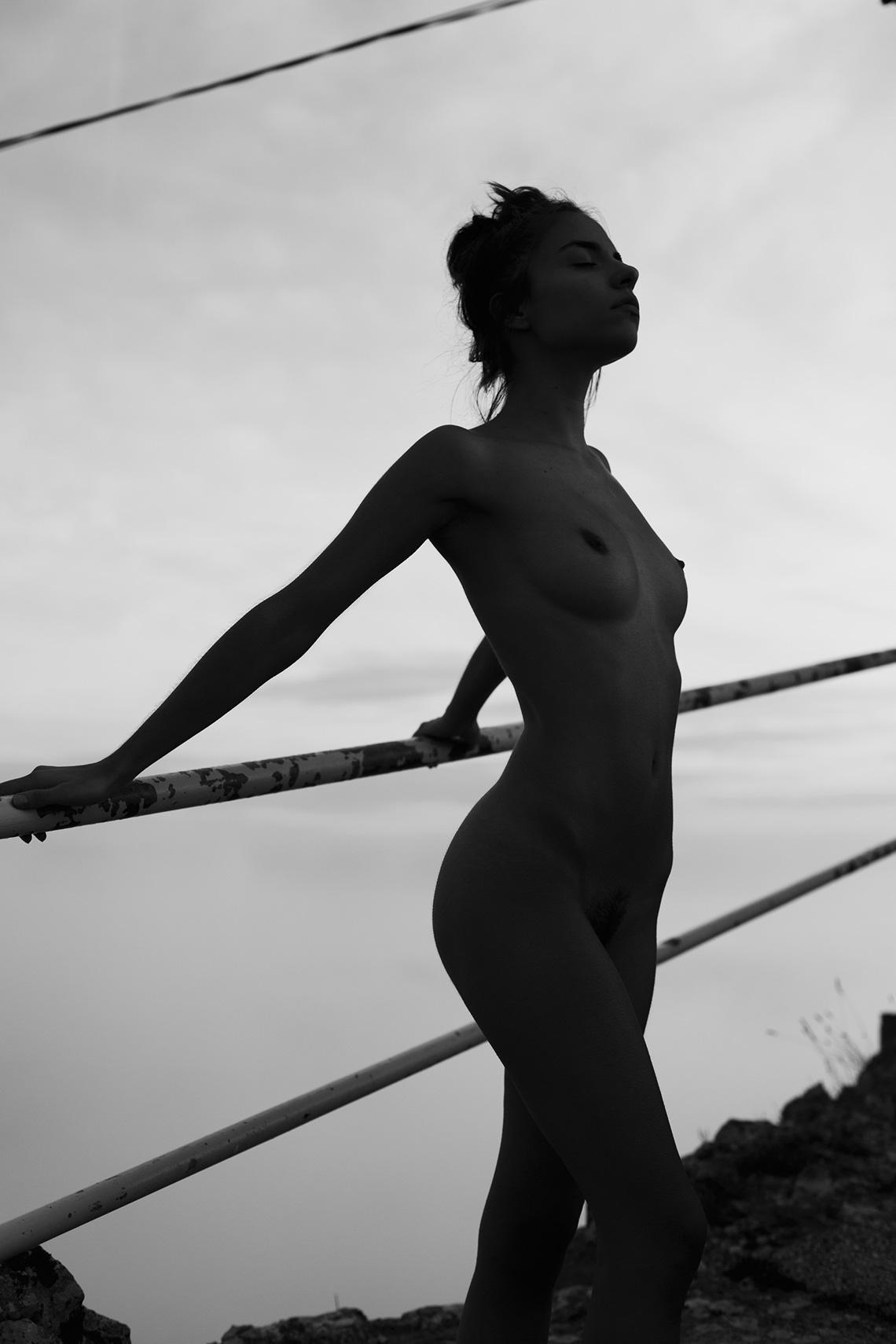 Rebecca Bagnol - Maxime Besse photoshoot