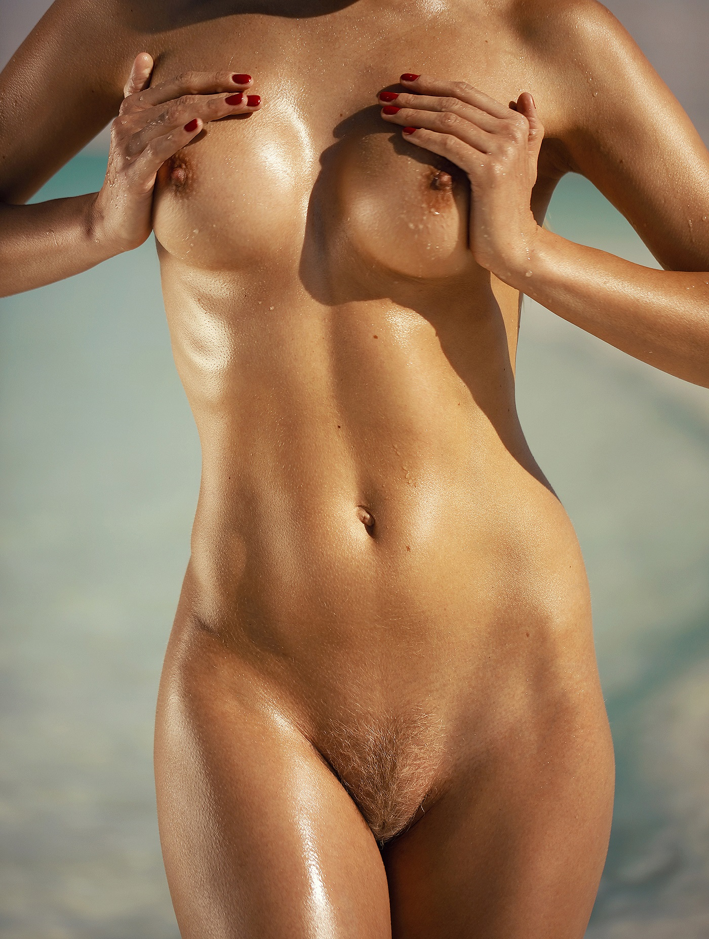 Dasha Snezhnaya - Ana Dias (Playboy) photoshoot