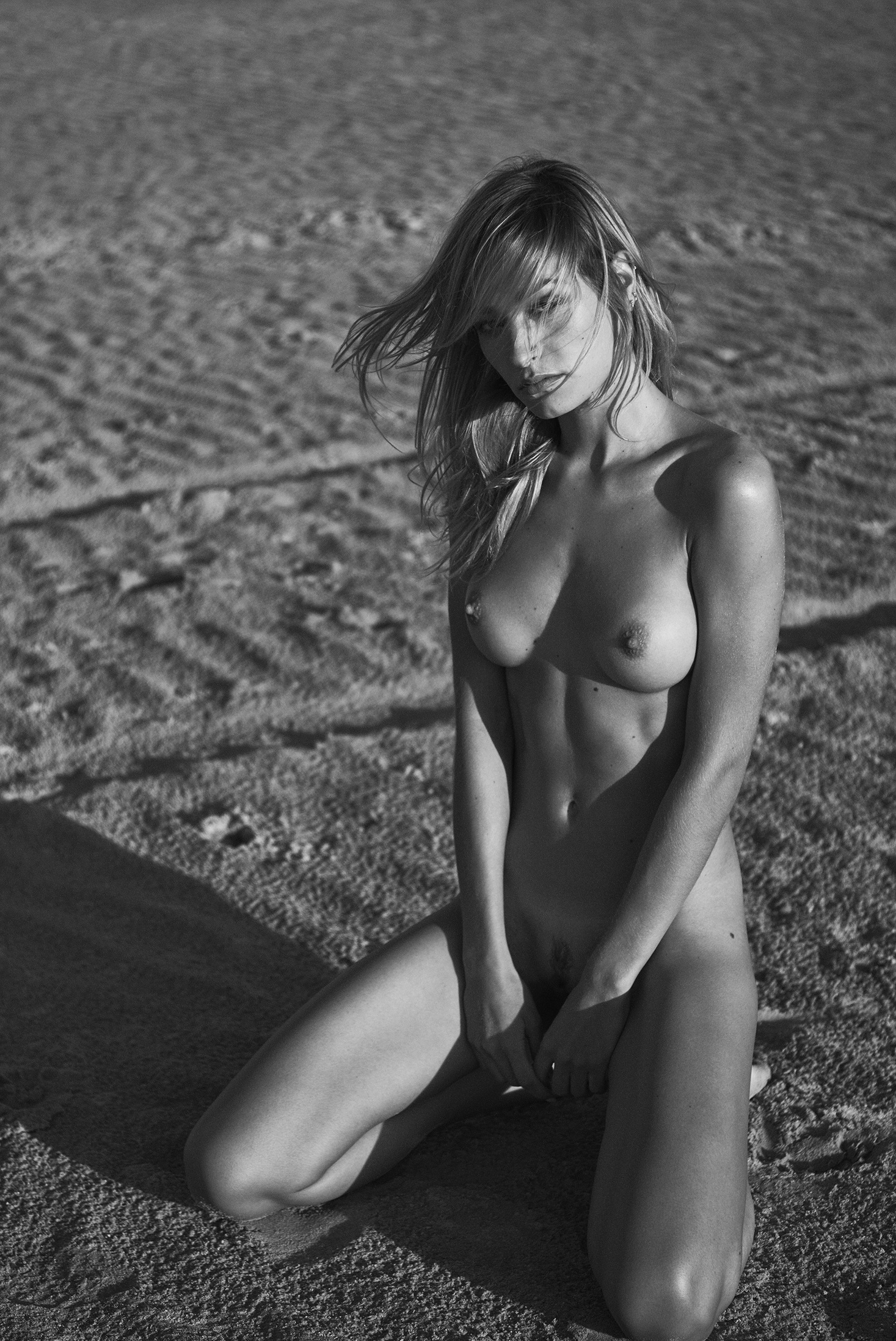 Justine Nicolas - Stefan Rappo photoshoot