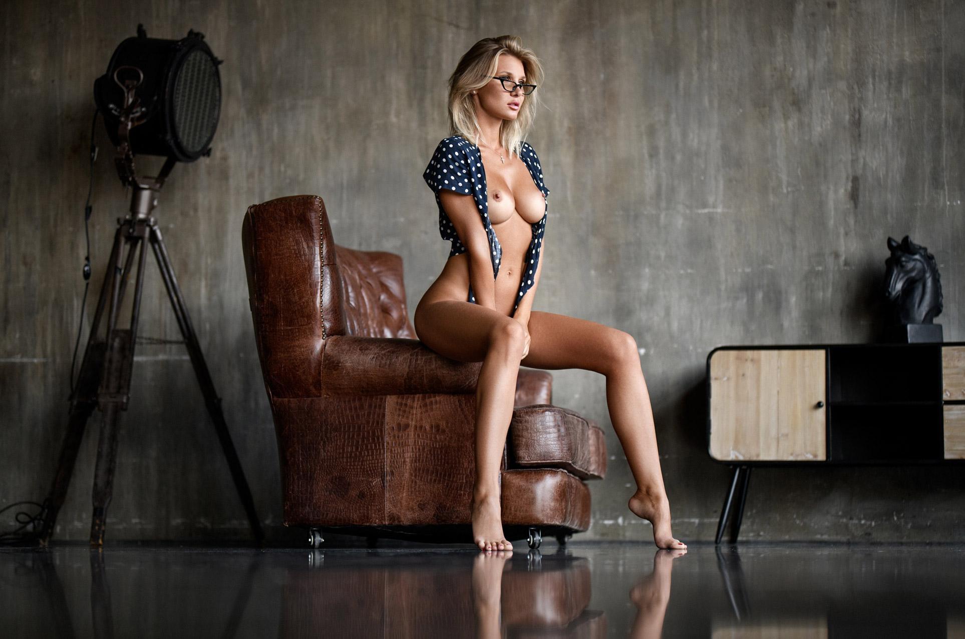 Marina Polnova - Sacha Leyendecker photoshoot