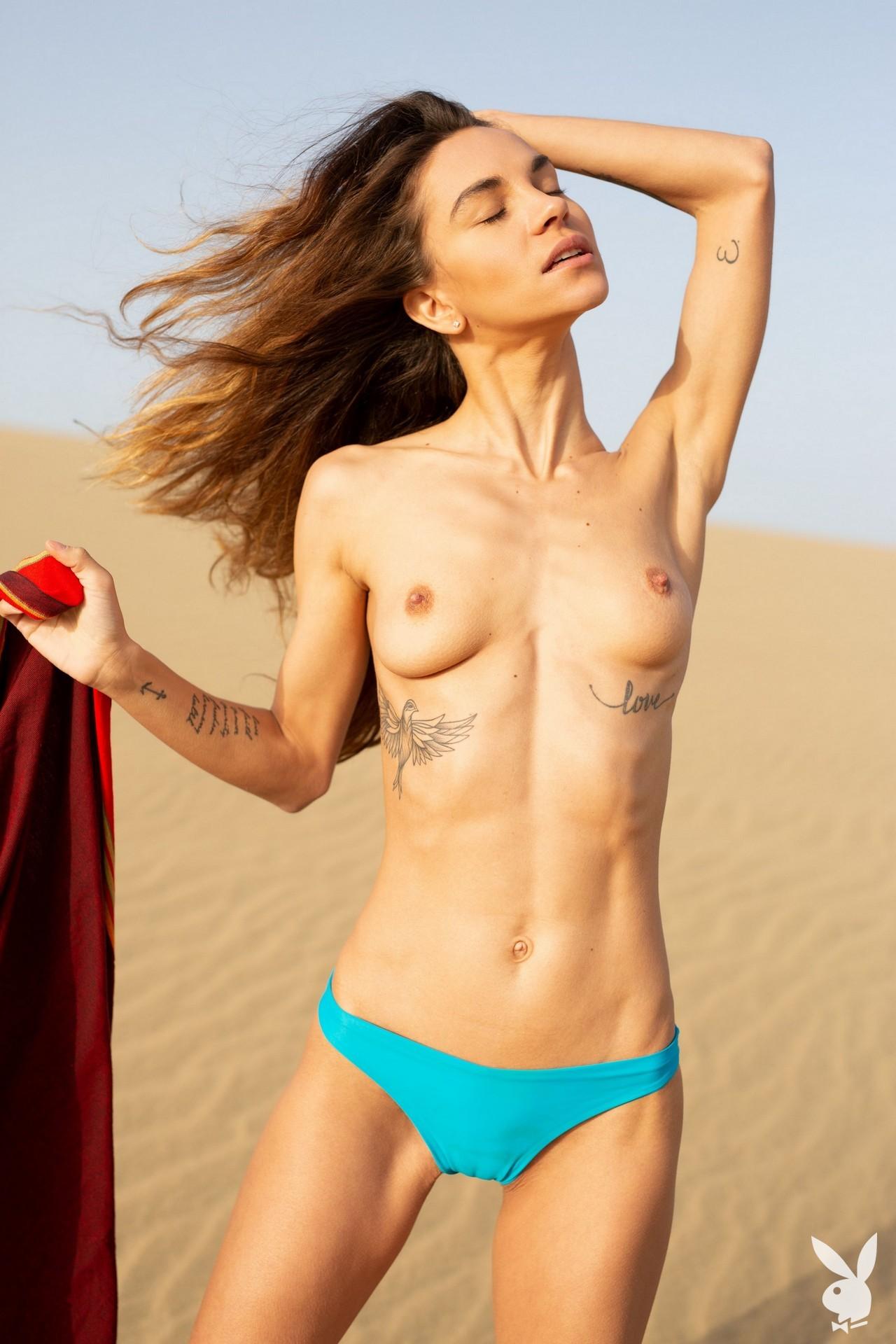 Rose Whitney - Playboy photoshoot
