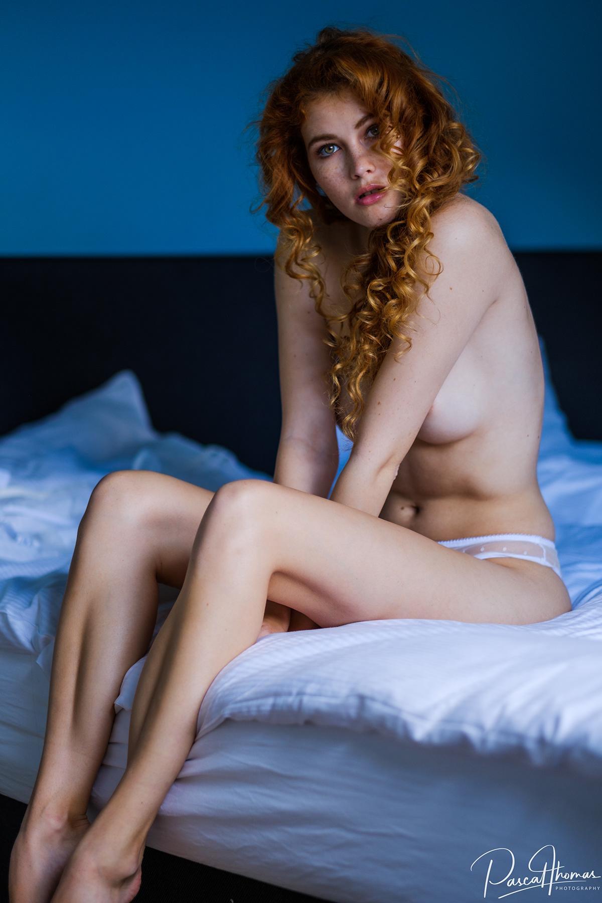 Heidi Romanova - Pascal Thomas photoshoot