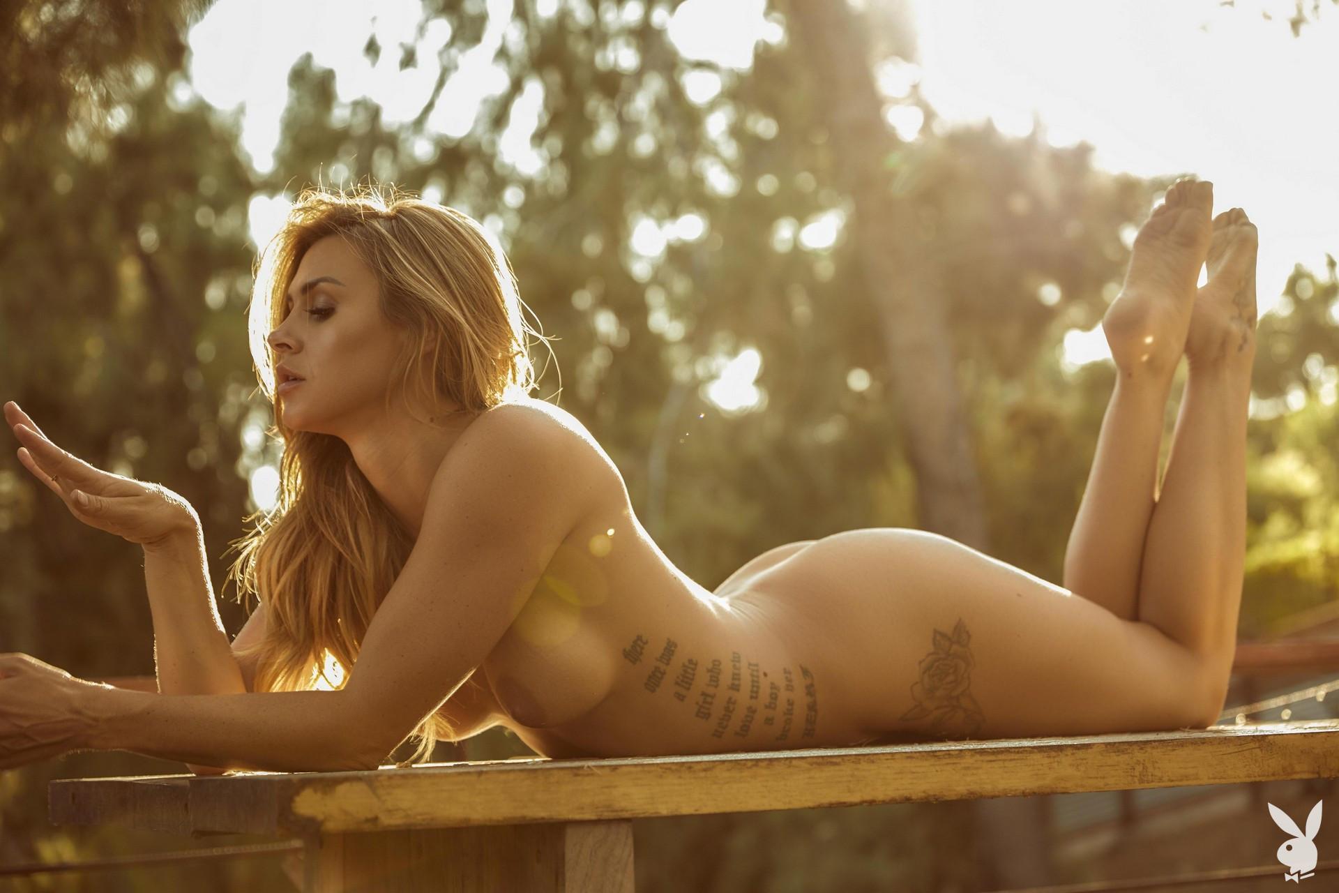 Ella Silver - Playboy photoshoot