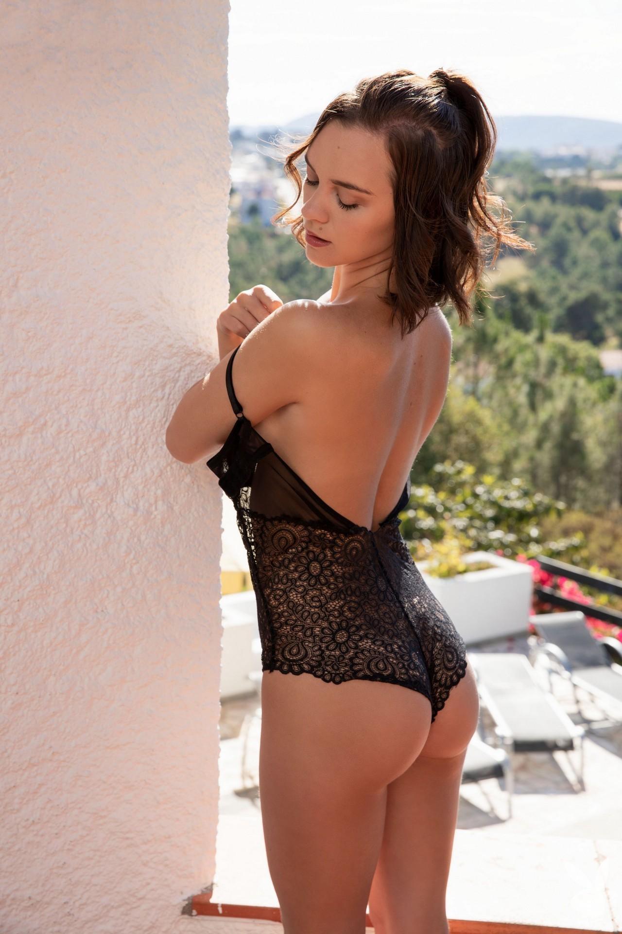 Marine Lecourt - Playboy photoshoot