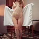 Alaine – Bath Towel (Albert Varin photoshoot)