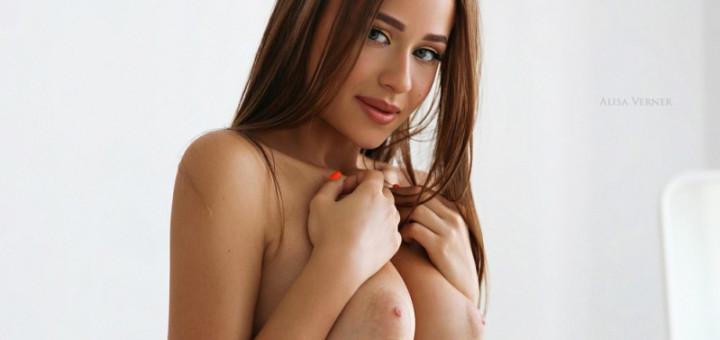 Angelina Kuznetsova - Alisa Verner photoshoot