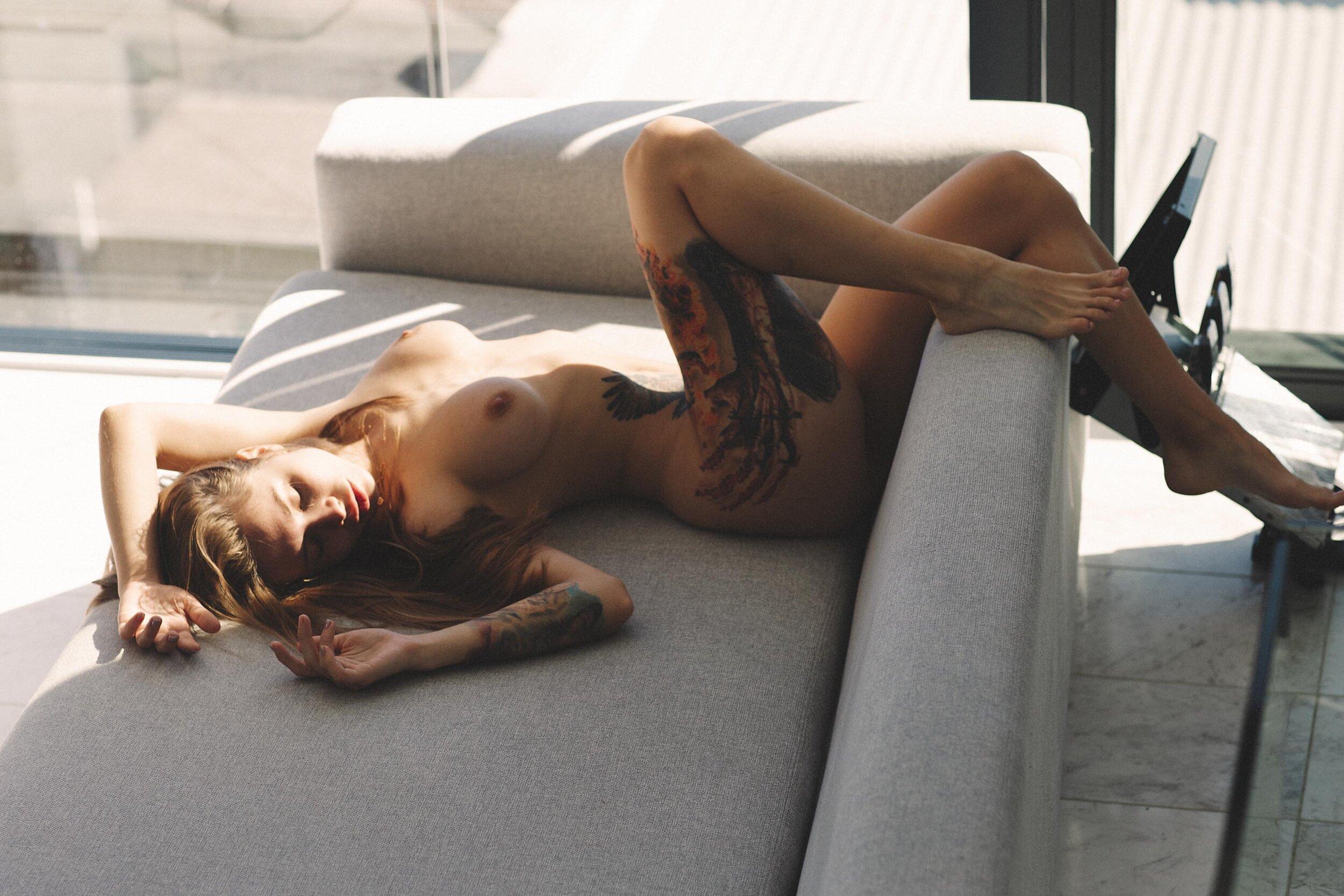 Viktoria - Gary Huddlestone photoshoot