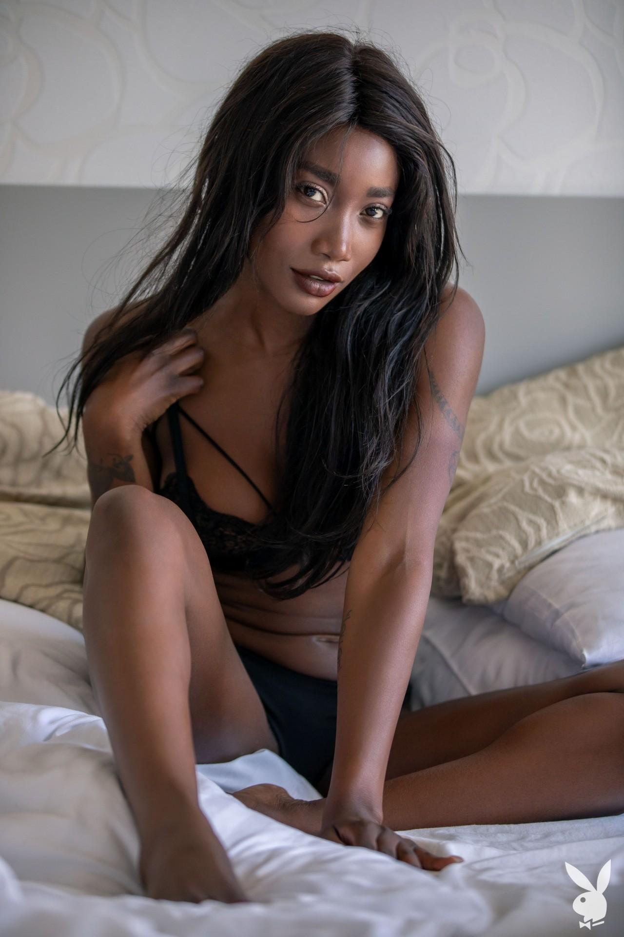 Mimi Desuka - Playboy photoshoot
