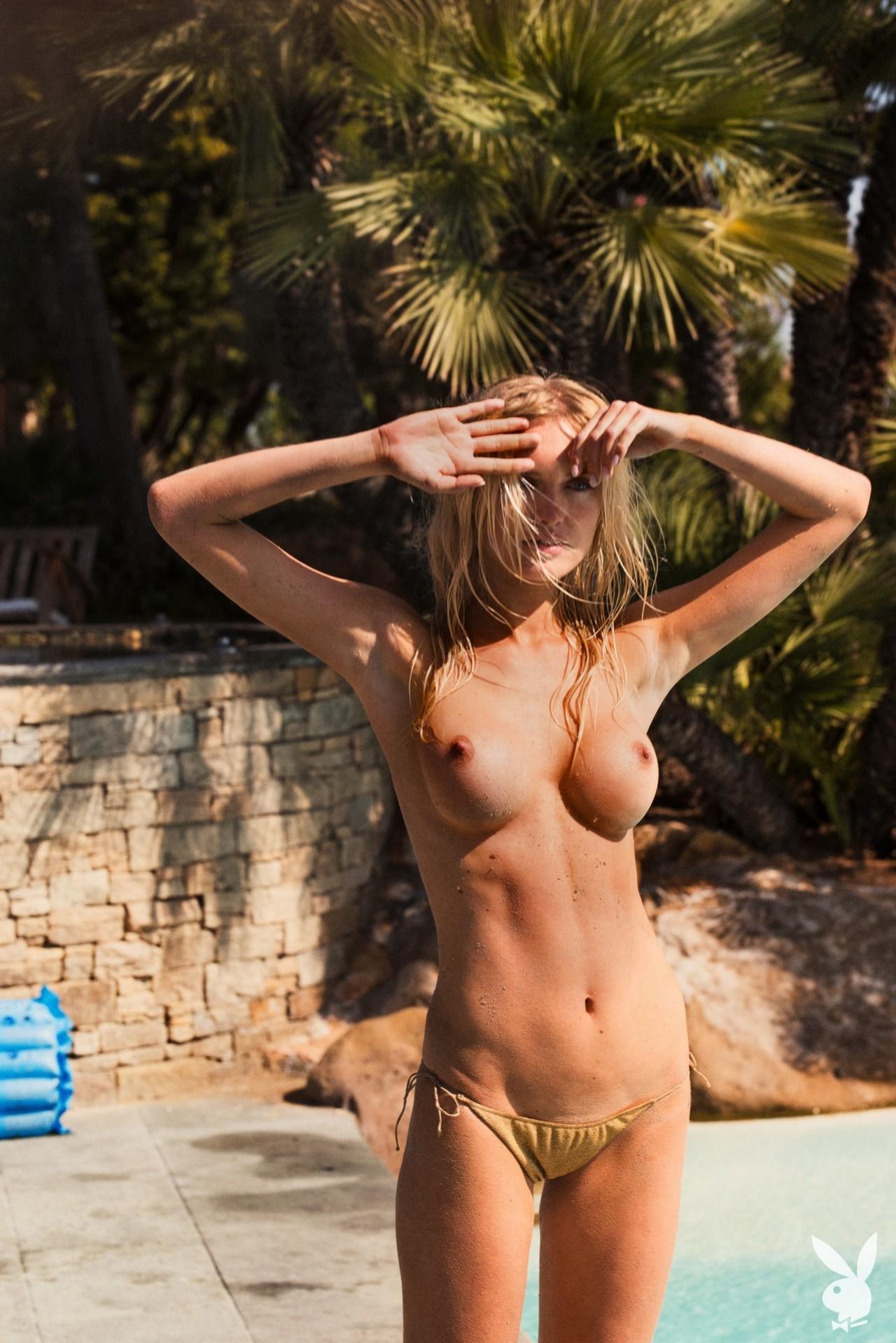 Alberte Valentine - Playboy photoshoot