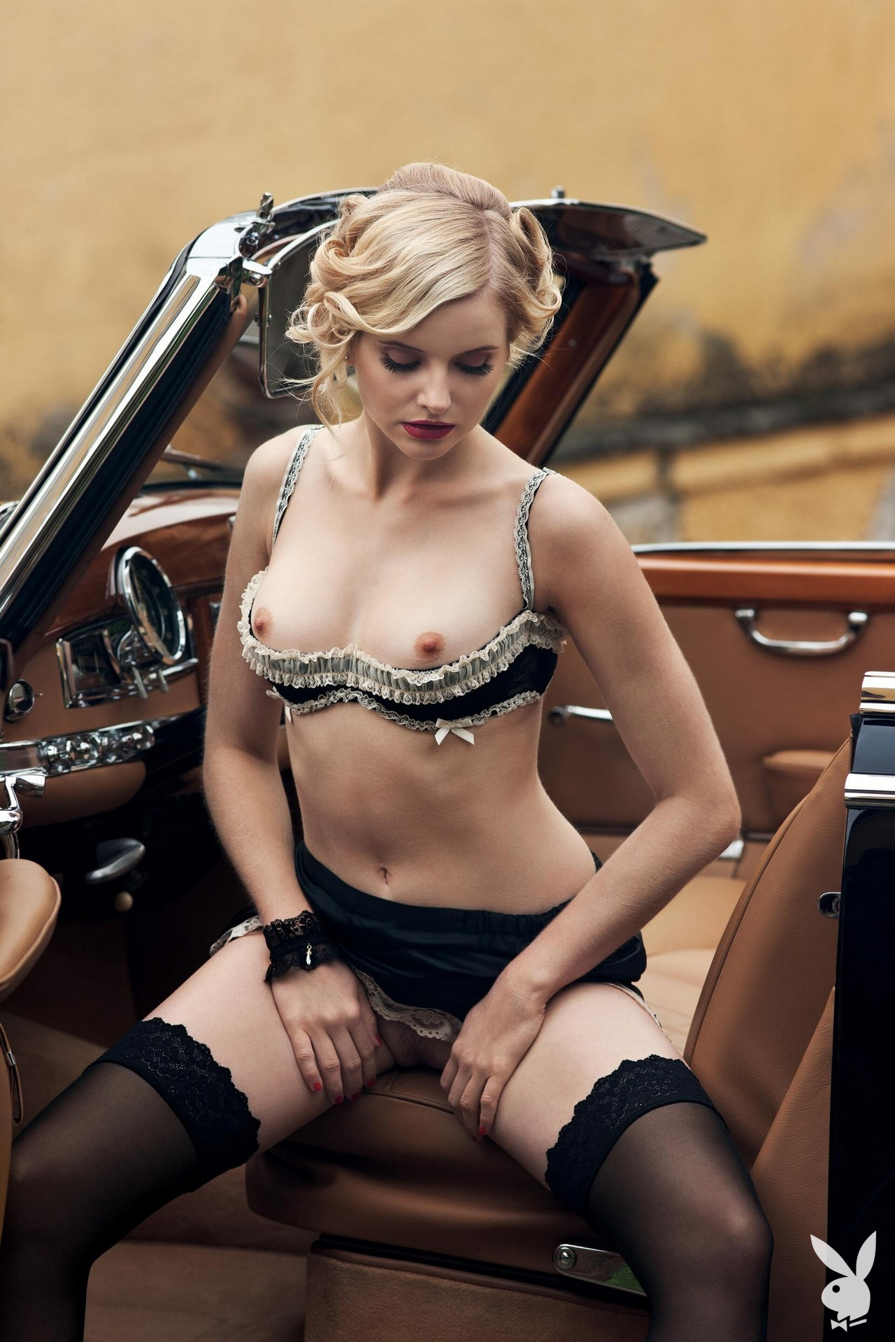 Anna and Lisa Heyse - Playboy photoshoot