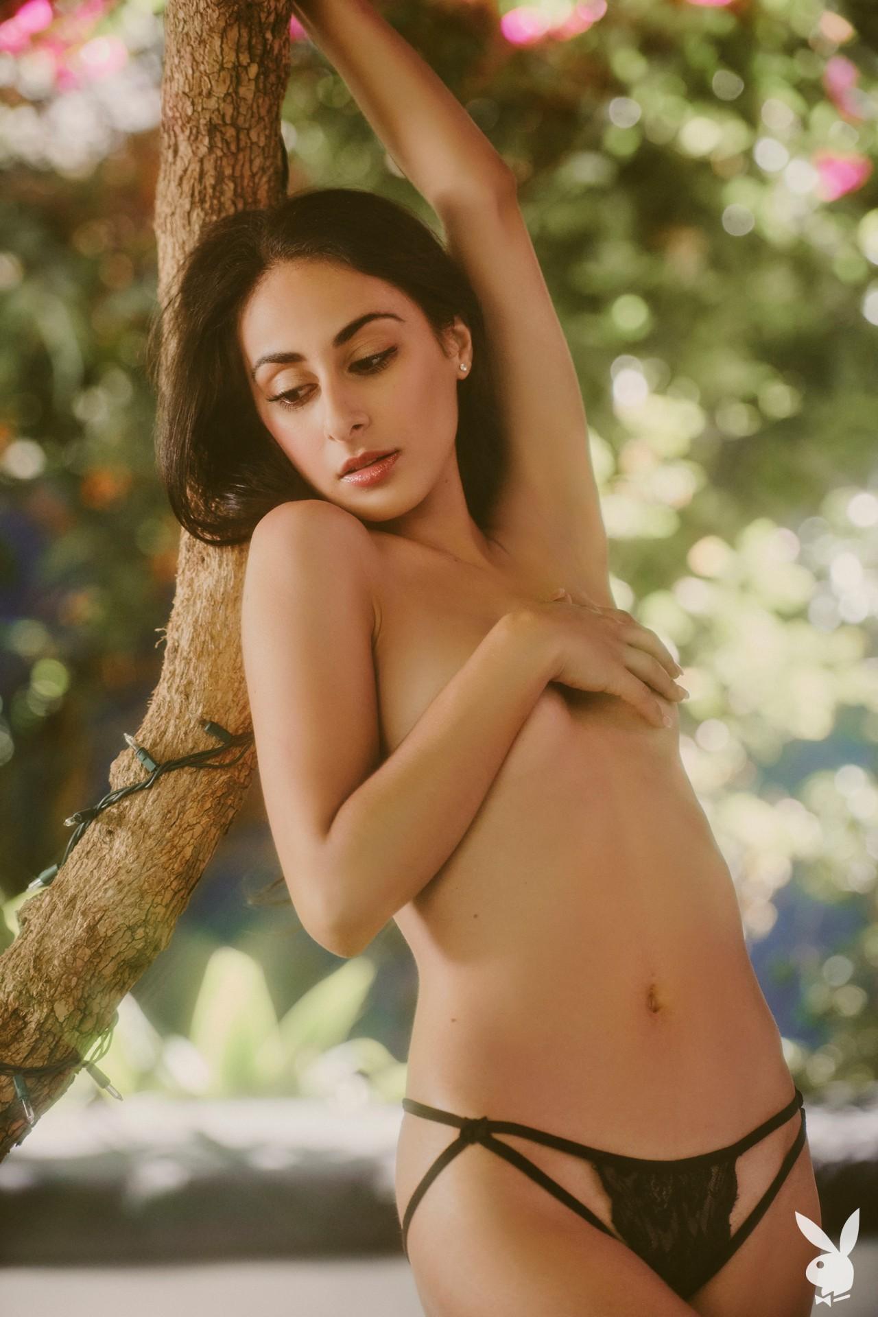 Leighla Habib - Playboy photoshoot