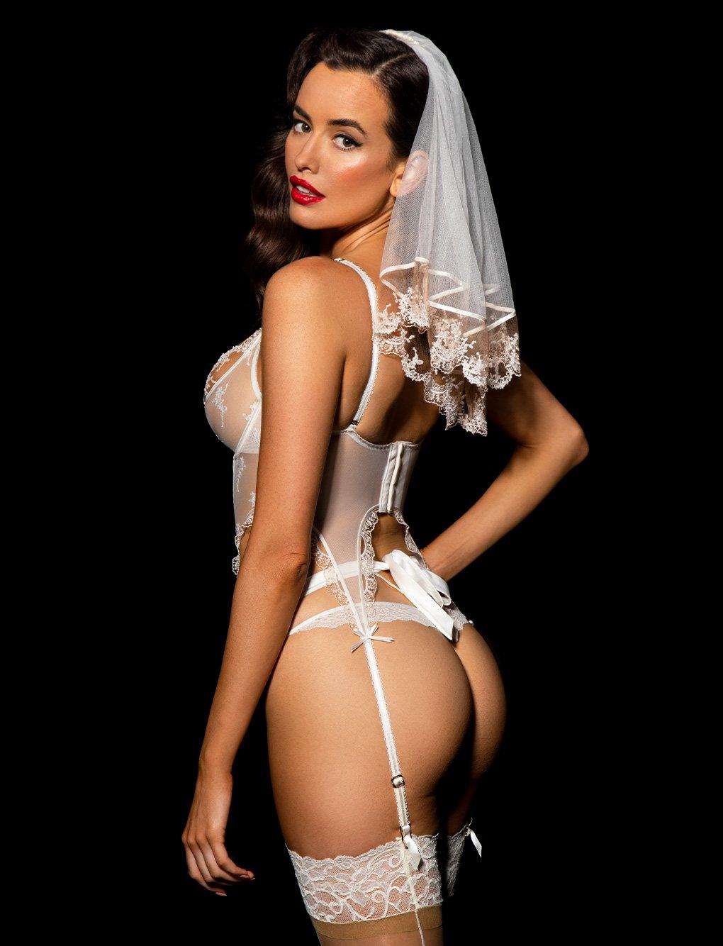 Sarah Stephens - Honey Birdette lingerie photoshoot