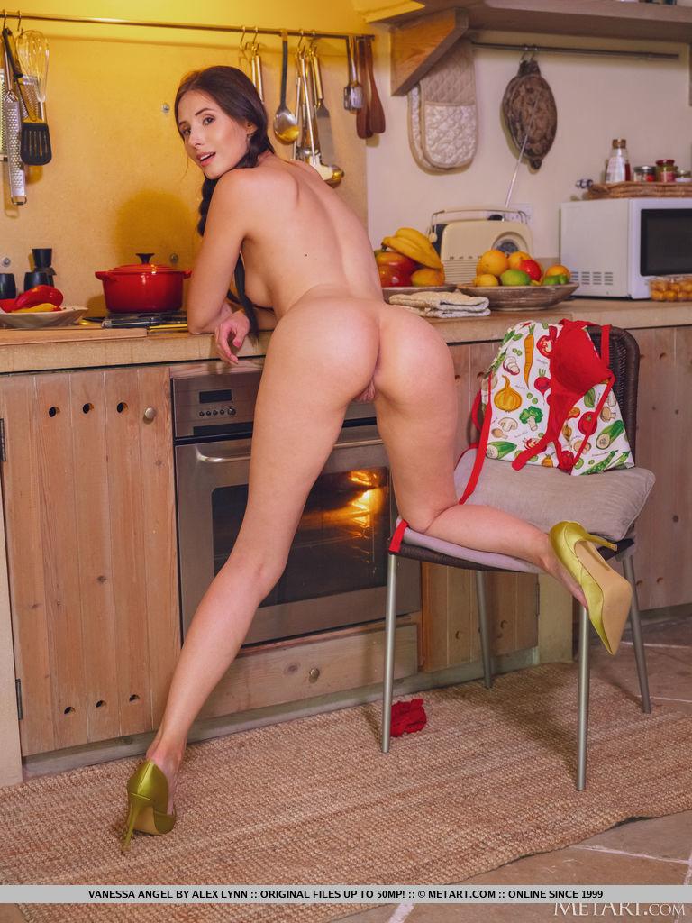 Vanessa Angel - Cooking In Lingerie