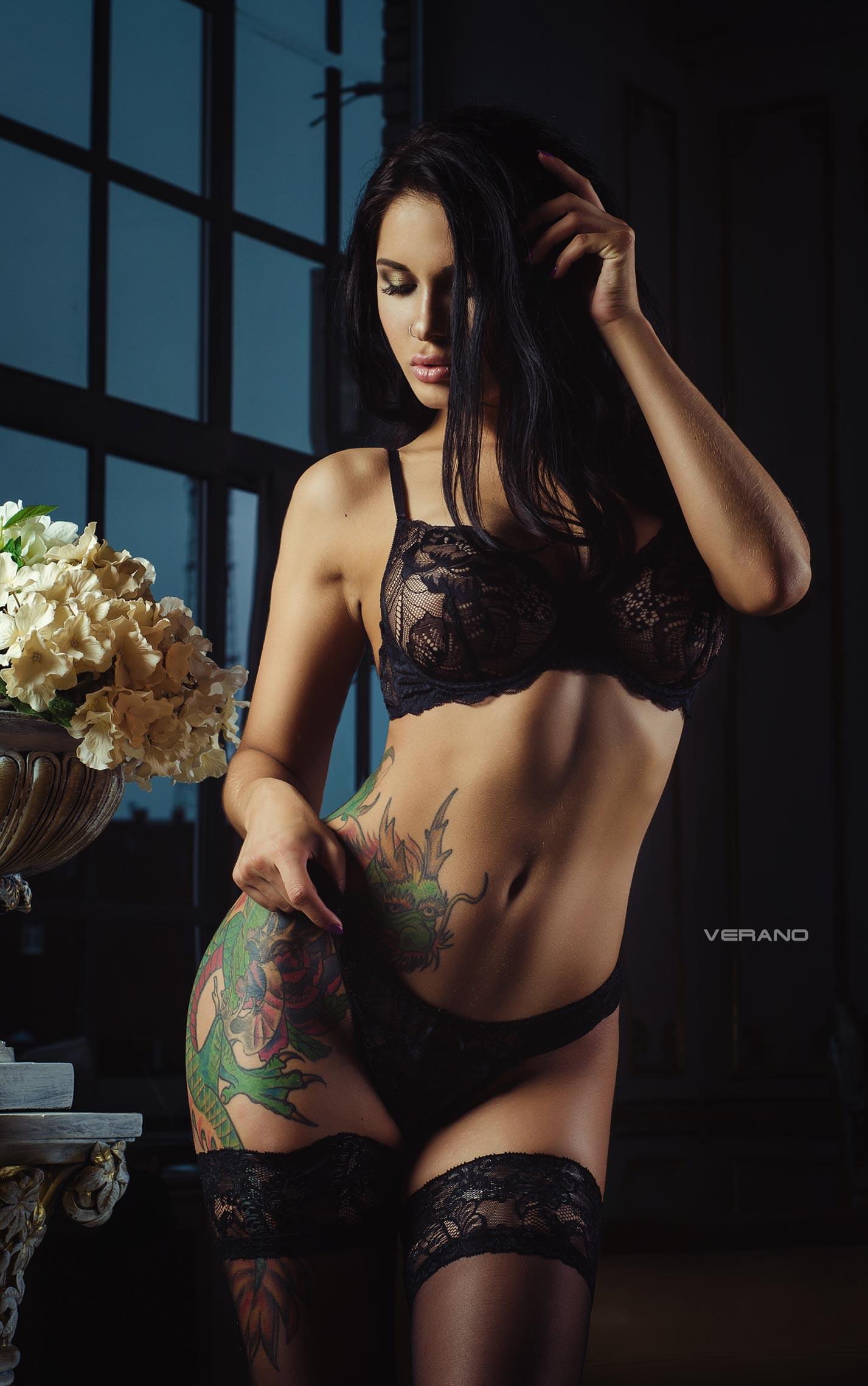 Lina Melton - Nikolas Verano photoshoot