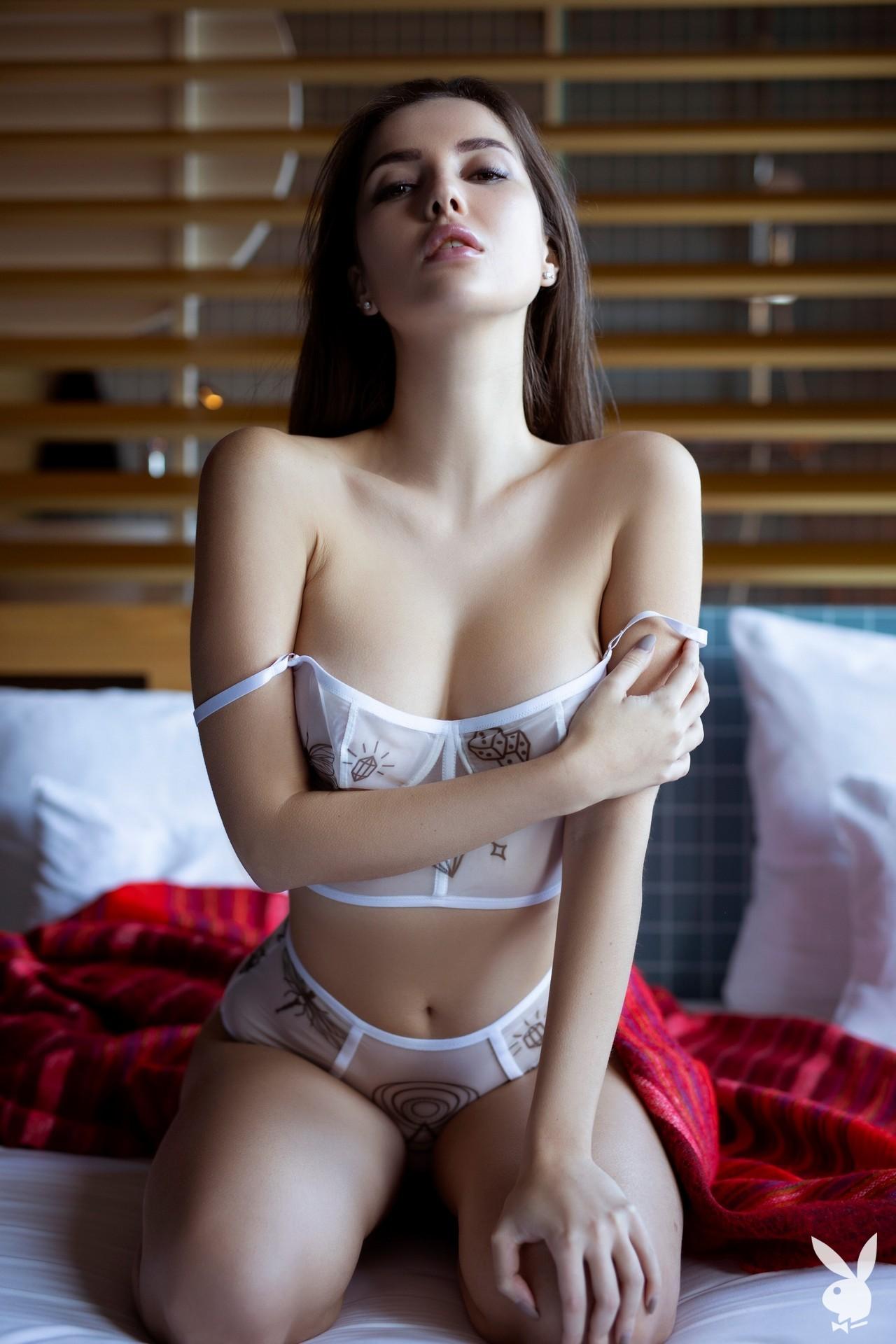 Marina Nelson - Playboy photoshoot