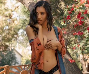 Brookliyn - Playboy photoshoot